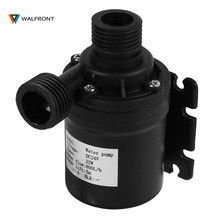 WALFRONT DC 24V Water Circulation Pump Brushless Water Pump Solar Energy Electric Water Pump Motor Aquarium Submersible(China)