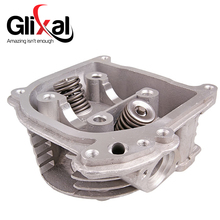 Glixal GY6 139QMB Chinese Scooter Engine 50cc to 60cc EGR Type Cylinder Head Assy with Valves for Roketa Qingqi Jonway Moped(China)