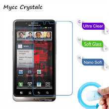 Nano Explosion-proof Soft Glass Protective Film Screen Protector Film for MOTO XT875 Droid Bionic(China)