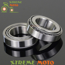 Steering Stem Head Race Bearings For Suzuki RM125 RM250 RMX250 RMZ250 RMZ450 RMX450 Motocross Enduro Motorcycle Dirt Bike(China)