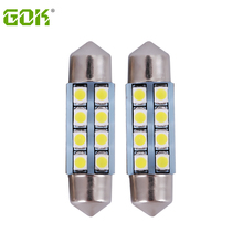 100pcs/lot C5W 31mm/36mm /39mm / 41mm festoon 8SMD Car Auto Interior led c5w 8LED 3528 1210 SMD White Festoon led Dome Light(China)