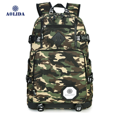AOLIDA Brand Design Backpacks Camouflage School Bag For Teenager Bag Travel Bag For College Unisex Backpack  Rucksack Daypack