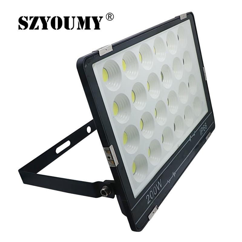 150W Slim Warm White LED Flood Light Outdoor Yard Security lighting  Lamp AC110V