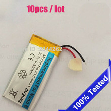 10pc / Lot SanErqi for iPod Nano 6 6th Gen 8gb 16gb Battery  Batteries Bateria Batteriej 3.7v 300mAh battery Free Tools
