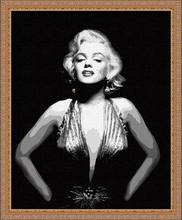 MaHuaf-X182 diy painting by numbers movie star Marilyn Monroe canvas art paint by number hand painted wall decorative picture