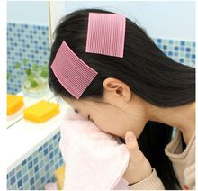 7.5*6.1cm 2pcs/pack Cute Fashion hair Magic Paste Seamless Affixed Bangs Paste Hair Fringe Holder Velcro 10Y48142