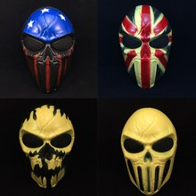 New Cosplay Delicated Airsoft Paintball Tactical Protection Mask Army Outdoor Skull Protect Mask
