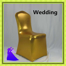 2016 New Style and best price !!! Wholesale 100pcs metal Chair Cover Spandex with 4 Pockets Free Shipping(China)
