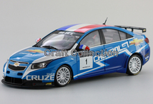 2011 Chevrolet Cruze  WTCC Racing Car Alloy Collectable Diecast Model Cars Slot Cars Hobby