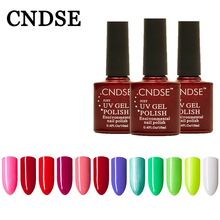 CNDSE 156 Pure Color Series UV&LED Gel Polish Healthy Eco-friendly The Material Specialty Gel Nails Polish 10 ML Nail Art Polish