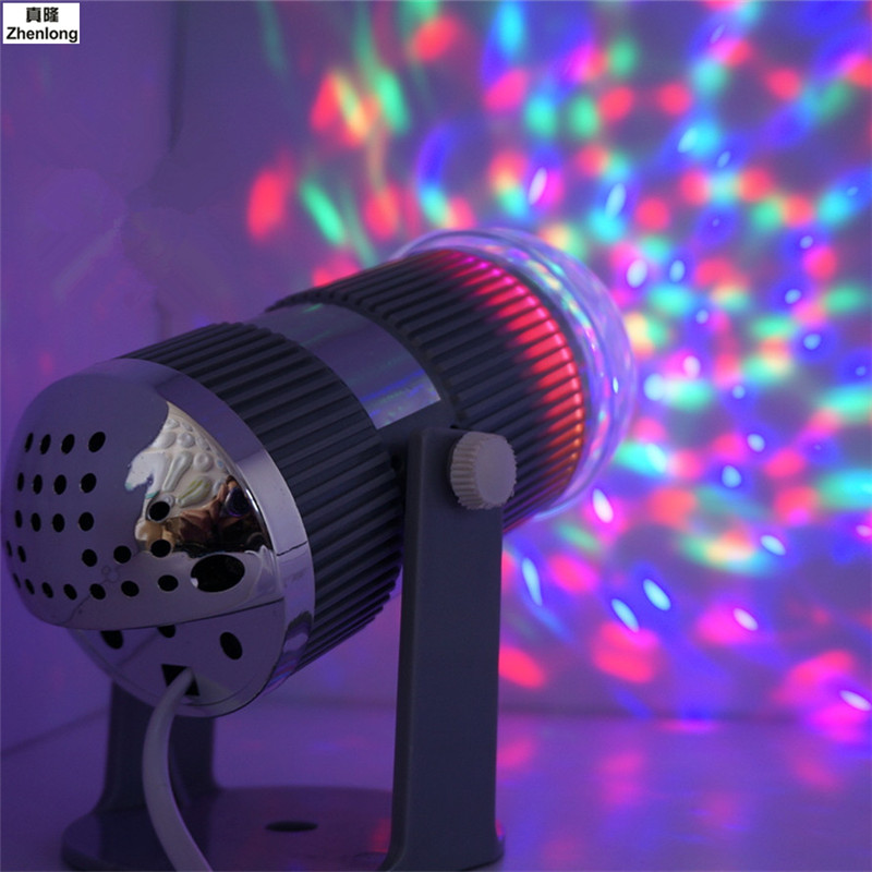Acoustic Led Stage Lights Colorful Mini  Lights Small Laser Rotation Ktv Private Room Lighting Game Halls Home Lighting<br>