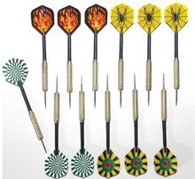2pcs/lot Free shipping 14.5cm copper dart needle darts 20 kinds of patterns designs selection GYH