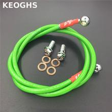 KEOGHS Motorcycle Brake Pipe Hydraulic Reinforced Brake Or Clutch Oil Hose Line Pipe Fit Atv Dirt Pit Bike Tubing Braid Steel