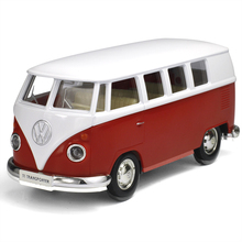 RMZ city 1:36 Diecast Alloy model car Simulation Volkswagen T1 Transport Bus Pull back toy for children's gift toys Collection