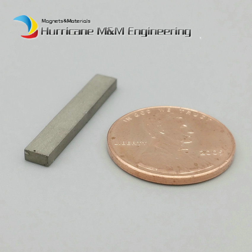 1 Pack SmCo Magnet Block 25x4x2 mm bar grade YXG24H, 350degree C High Temperature Mortor Magnet Permanent Rare Earth Magnets<br>