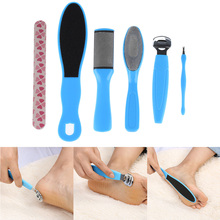 8 in 1 Exfoliating Pedicure Peeling Foot Care Dead Skin Remover Cuticles File Rasp Tool Set(China)