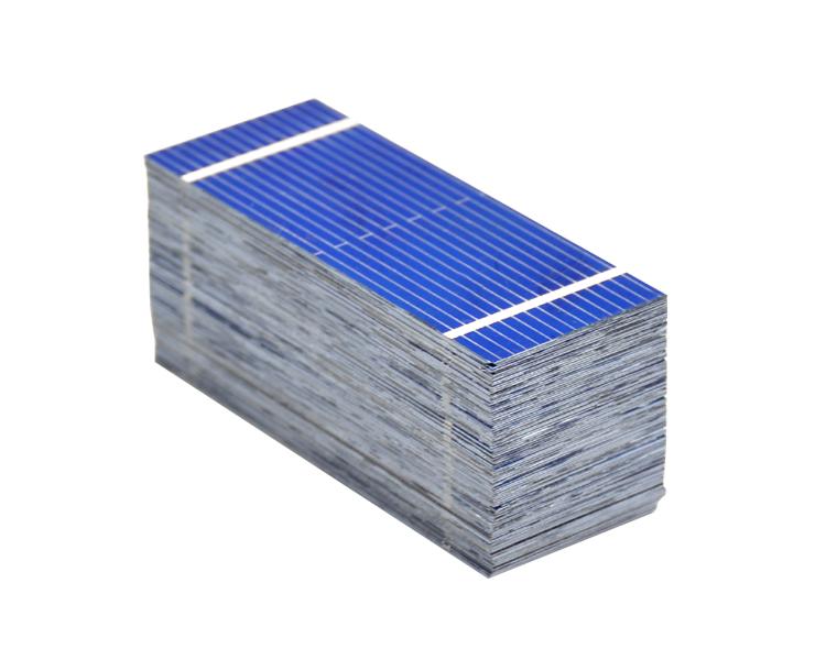 Aoshike 100pcs Mini Solar Panel 52 * 22mm Polycrystalline Silicon Solar panels 0.19w 0.5v/DIY Cell Phone Charging Battery 9
