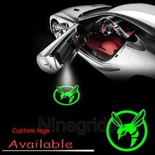Auto Shadow Door Logo Led Laser Welcome Projector Light Lamp for The Green Hornet #2201