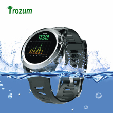 TROZUM H1 GPS Wifi 3G Camera Smart Watch MTK6572 IP68 Waterproof 400*400 Heart Rate Monitor 4GB/512MB For Android IOS PHONES