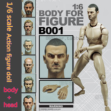 1/6 scale figure doll boby with Head Sculpt DIY action figures doll  , Soldier Semi-finished model toys