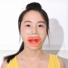 New Silicone Rubber Face Facial Slimmer Massage Muscle Tightener Anti-Aging Anti-Wrinkle Mouth(China)