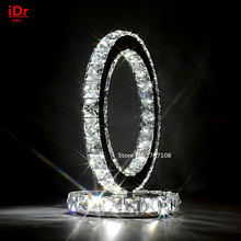 Contemporary living room led Table Lamps warm bedroom modern crystal Table light Upscale atmosphere D220xH240mm