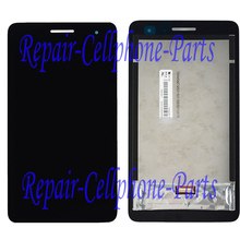 Black  LCD DIsplay + Touch Screen Digitizer Assembly For Huawei MediaPad T1 7.0 / Honor Play Tablet T1-701u / T1-701ua T1-701