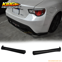For 2013-2016 Scion FRS Subaru BRZ FT86 CS Bottom Line Rear Aprons Valences