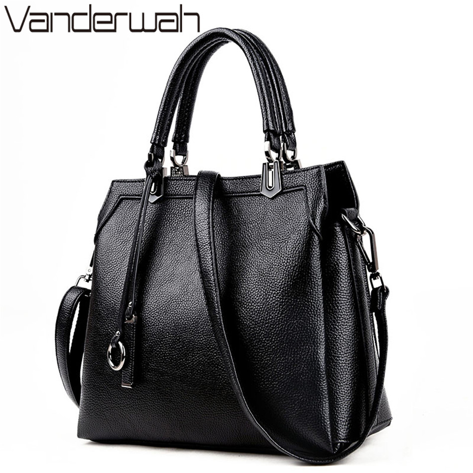 VANDERWAH Luxury Handbags Women Bags Designer Genuine Leather Bag Women Shoulder Bag Female crossbody messenger bag sac a main<br>