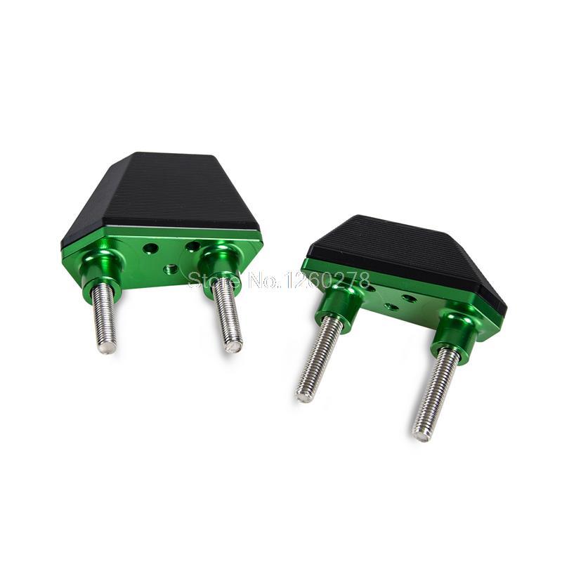 CNC Motorcycle Frame Sliders Crash Protector Set For Kawasaki Z800 2013-2014 Engine Tools Supplies<br>