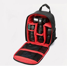 Coloful Waterproof Multi-functional Digital DSLR Camera Video Bag Small DSLR Nikon Canon Camera Backpack For Photographer(China)
