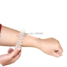 2pcs Hand Acupuncture Massager Ring Wrist Massage Ring Finger Massager Relaxation Health Care