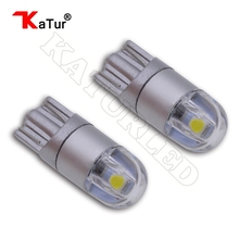 Buy 2pcs T10 W5W Led Bulbs Car lamps 168 194 License Plate Light Trunk Lamp Clearance Lights Reading Lamp 12V White Amber/Orange Led for $2.14 in AliExpress store