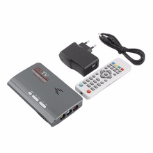 Digital  1080P DVB-T2 TV Box VGA AV CVBS Tuner Receiver with Remote Control  HD 1080P VGA DVB-T2 TV Box