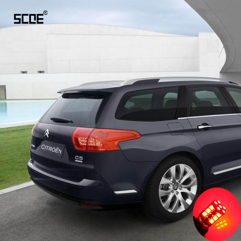 For Citroen C5 Break (TD) SCOE 2015 New High Quality 2X 30SMD LED Brake /Stop /Parking Rear /Tail Bulb /Light Source Car Styling<br><br>Aliexpress
