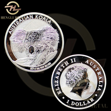 100pcs /lot FAST DELIVERY <4-8 Days To Europe> 1 Troy Oz .999 Silver Coin One Dollar Australia 2014 Koala Bear Silver Coin