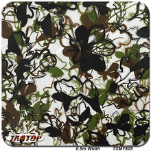 TAOTOP805 0.5m*10m Popular Camo Transparent pva water transfer printing film water dipping printing hydro graphics film