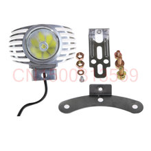 Free Shipping 2pc car-styling Adjustable Motorcycle 15W LED Driving Fog Spot Spotlight Lamp Light For BMW(China)