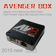 100% Original Latest AVENGERS Box for Alcatel blackberry zte china phone repair software without cable  free shipping