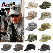 Army Cadet Military Patrol Cap Hat Combat Hunting Fatique Ranger Headwear Breathable Flat Top BDU Sunshade Cap(China)