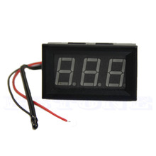-50 ~ 110 Celsius DC 12v Digital LED Thermometer Car Temperature Monitor Panel Meter L15(China)