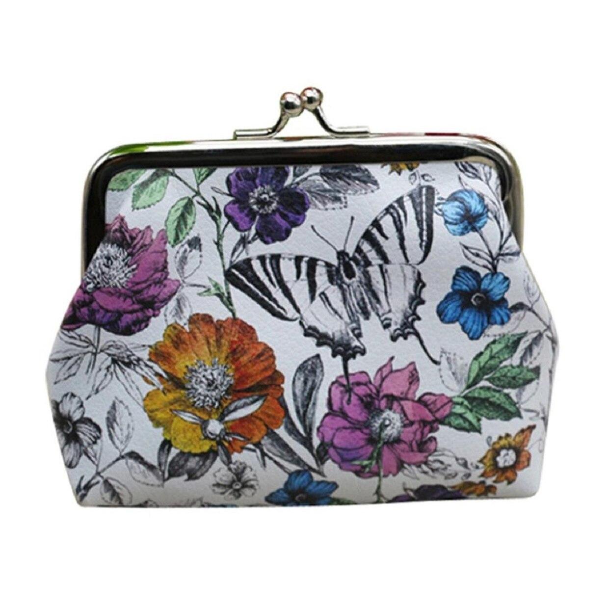 10pcs( ASDS Womens Lady Wallet Bag Coin Purse Clutch Handbag (Butterfly)<br><br>Aliexpress