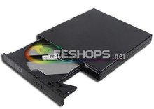 "External USB DVD Drive for Acer Aspire One 552 725 721 756 753 10.1"" Netbook 8X DVD-ROM Combo Player 24X CD-R DL Recorder Case"