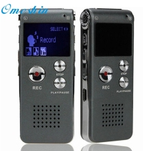 Beautiful Gift 100 Brand New 2017 Digital Audio Voice Recorder Rechargeable Dictaphone Telephone MP3 Player Free Shipping Dec08