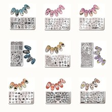 1 Pc Nail Art Stamping Template Animal Girl Sea Shell Starfish Design Rectangle Manicure Nail Art Image Plate L012-031