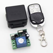 433Mhz Universal Wireless Remote Control Switch DC 12V 1CH relay Receiver Module and RF Transmitter 433 Mhz Remote Controls