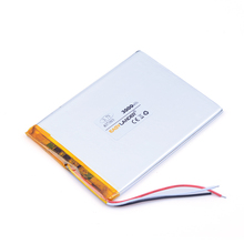 "3.7V 3000mah Tablet relacement Battery For 7"" Tablet Q8, Q88 A13 U25GT Freeander PD10 3G,PD20 3G TV MTK6575,MTK6577(China)"