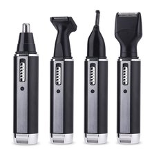 All-in-1 Rechargeable Original nose ear hair trimmer for men beard face trimer for men hair removal Trimmer for nose and ears