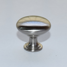 Advantage Plus 1 Knob 1 1/8 in. Dia. Brushed Nickel(China)