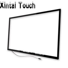 "2 points 32 inch touch IR multitouch lcd touch screen panel/ 32"" multi touchscreen overlay kit(China)"